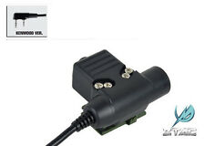 Element / Z-Tactical Z113 U94 Style PTT for Kenwood 2 Pins Radio Headset