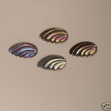 Vintage Leaves / Wings / Feathers Black Iris / Mixed Colors Sequins Loose NOS