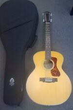 Guild f2512-e Westerley ELECTRO Acoustic Jumbo 12-STRING GUITAR, SOLID TOP, + Custodia