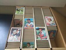 1977, 1978, 1979, 1980 Topps Huge Lot (~2400) Vintage Baseball Cards -NO CREASES