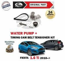 FOR FORD FIESTA 1.6 TI VCT 16V 2010-2016 TIMING CAM BELT KIT + WATER PUMP SET