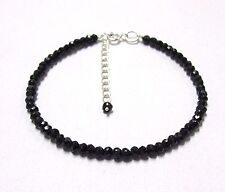 """Gorgeous B.Spinal Gemstone Beads 925 Sterling Silver Fashion Jewelry Bracelet 7"""""""