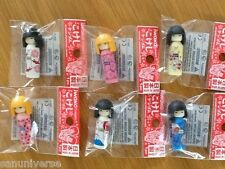 LOT SET MODELLINI FIGURE BAMBOLE JAPAN GIRLS GEISHA KOKESHI JAPANESE DOLL POUPEE