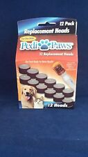 12 Pack Pedi Paws Refills PediPaws Heads NEW sanding wheel, telebrands