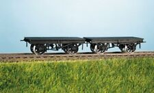 OO wagon kit - Set of 2 LMS 9ft Underframe Wagons - Ratio 570 - free post