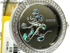 Invicta Disney® Womens 38mm Limited Edition Crystal Accented w/3 Slot Dive Case