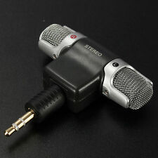 Mini 3.5mm Stereo Vocal Mic Microphone for Recorder PC Laptop MD VoIP MSN Skype