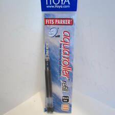 Set of 24 Itoya Aqua Roller Refill, 1.0mm, BLACK (Itoya AQR10BK-BP) -12x 2/pk