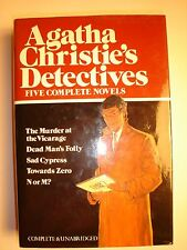 Agatha Christie's Detectives : 5 Complete Novels by Agatha Christie (1987,...