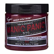 Manic Panic Vegan Semi Permanent Hair Color Cream 118 mL Rock N Roll Red