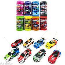 Coke Can Mini RC Radio Remote Control Micro Racing Car Toy Gift Random Delivery