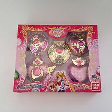 Gashapon Sailor Moon Transforming Compact Set Sailor Scout Cosplay US SELLER