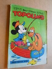 Topolino Libretto n°109 anno 1953 con BOLLINO [G350] - BUONO -