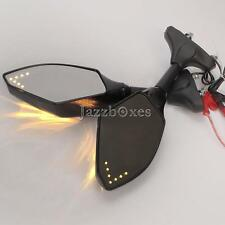 Turn Signal Integrated Rearvide Side Mirrors For Suzuki SV1000S GSF 1200S BANDIT