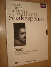 DVD N°2 OTELLO IL GRANDE TEATRO DI WILLIAM SHAKESPEARE HOPKINS HOSKINS WILTON