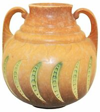 Roseville Pottery Falline Brown Vase 648-7