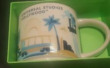 Universal Studios Hollywood Starbucks YAH You Are Here Mug Cup 2016 NIB