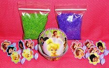 TinkerBell,Fairies,Cupcake Kit,Rings,Sprinkles,Bake Cups,Wilton,415-5115,Purple