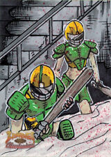 5finity Zombies vs Cheerleaders 2013 Sketch Card by Ben Hansen V2