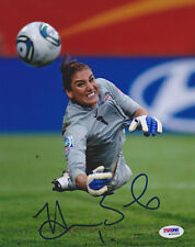 Hope Solo SIGNED 8x10 Photo Soccer Goalie Team USA ITP PSA/DNA AUTOGRAPHED