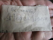 FOLDED  RELIQUARY .THERESE LISIEUX Ex.CAPELLI