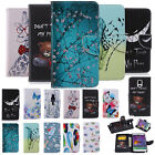 Hot Sale Painted Flip Wallet PU Leather Case Stand Cover For Samsung Phones