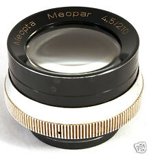 MEOPTA MEOPAR 210mm f/4.5 Screw Mount Lens Heliar copy 4х5 10x13cm LARGE FORMAT