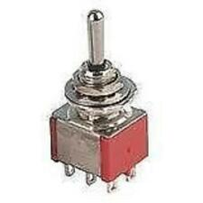 MINI TOGGLE SWITCH DPDT ON-ON-ON (1 X SWITCH)