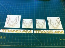 1982 - 1989 Firebird Trans Am Restoration decal sticker graphic set kit Pontiac