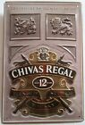 CHIVAS REGAL, Scotch Whisky, BLECHSCHILD