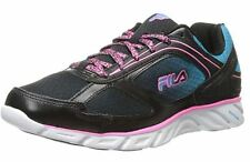 FILA ~ Size 8 ~ Women's Sneakers STRIDE 3 Black Blue Pink running casual Girls
