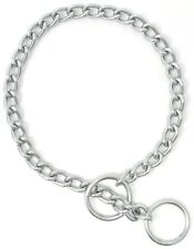 HAMILTON Choke Chain Dog Collar, Heavy (3.5 mm), 30""