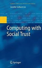 Human-Computer Interaction: Computing with Social Trust (2010, Paperback)