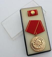 DDR NVA EAST GERMAN POLICE SERVICE MEDAL 20 YEAR SERVICE