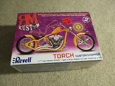Revell RM Kustom Torch Custom Chopper 1/12 Scale Model Kit Unbuilt 2006