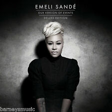 EMELI SANDE ( NEW SEALED CD ) OUR VERSION OF EVENTS ( DELUXE EDITION ) EMILY