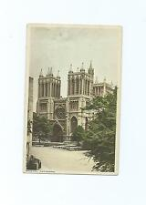 Colour Postcard of Bristol Cathedral