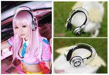 Sonicomi Super Sonico Headphone Cosplay Prop Anime Halloween Party Accessory WY