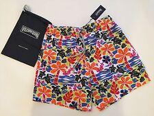 New w Tags & Bag Authentic Vilebrequin Moorea Multicolor Swim Trunks - Men L