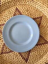VINTAGE WOODS WARE IRIS DESIGN RETRO BLUE SIDE/BREAKFAST PLATE 17.3 cm