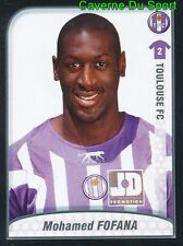 480 MOHAMED FOFANA MALI TOULOUSE.FC TFC STICKER FOOT 2009-2010 PANINI