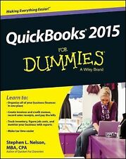 QuickBooks 2015 for Dummies® by Stephen L. Nelson (2014, Paperback)
