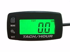 Tach Hour Meter Tachometer RPM display motorcycle atv dirtbike outboard