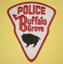 "Buffalo Grove Police Patch - Illinois - 4"" x 4 7/8"""
