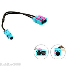 CONNECTS 2 CT27AA83 TWIN FAKRA FEMALE - SINGLE MALE FAKRA ANTENNA ADAPTER CAR