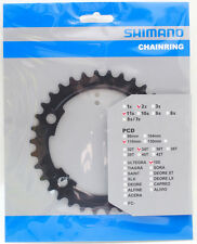 Shimano 105 FC-5800 Chainring 34T for 50-34T, Black, 11 Spd, FC-6800 Usable