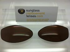 Arnette Swinger Non-Raised Logo Custom Replacement Lenses Brown Polarized NEW!