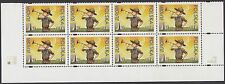 SCOUTS : 2007 POLAND Centenary of Scouting /Europa SG4270 MNH block of eight