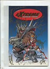EXTREME SUPER TOUR GOLD VARIANT SIGNED BY 13 INC. LIEFELD (9.0)