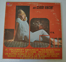 AVEC CLAUDE VINCENT LP Record Sexy Cheesecake Cover 1960s